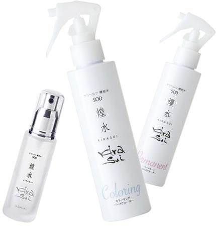 KIRASUI(キラスイ)のホームケア用品もそろえておりますので、詳しくはお近くの店舗スタッフまでお問い合わせ下さい。